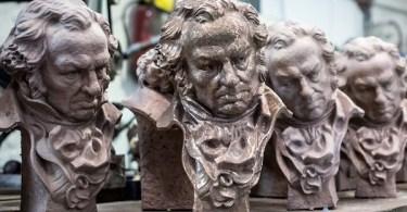 Goya Award Statues