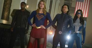 Melissa Benoist Jesse Rath David Harewood Nicole Maines Supergirl