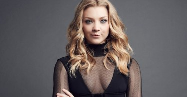 Natalie Dormer Sheer Black Dress