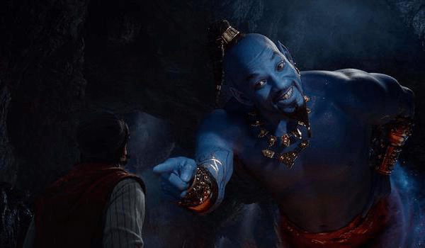 ALADDIN (2019) Teaser Trailer 2: A 'Special Look' at Will Smith as the Genie in Guy Ritchie's Film