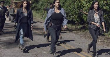 Alanna Masterson Eleanor Matsuura Nadia Hilker The Walking Dead Chokepoint