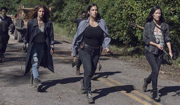 Alanna Masterson Eleanor Matsuura Nadia Hilker The Walking Dead Chokepoint