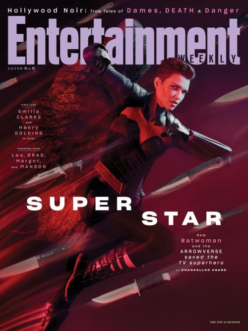 Batwoman Arrowverse Entertainment Weekly August 2019 Cover