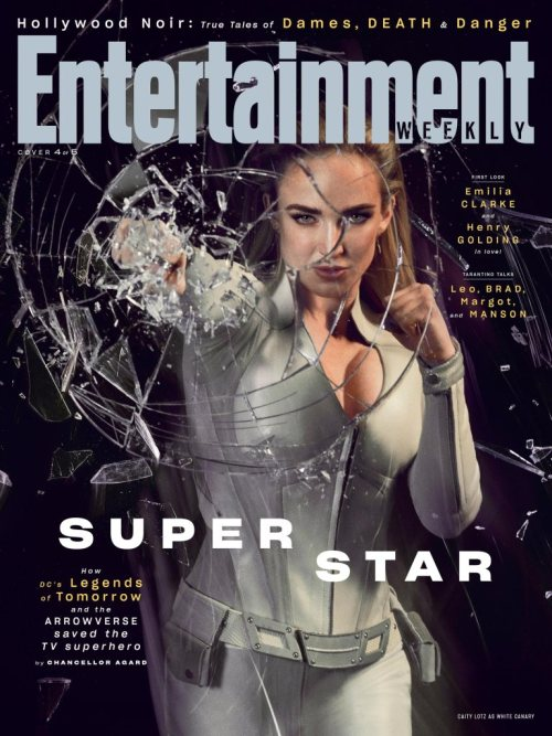 Legends of Tomorrow Arrowverse Entertainment Weekly August 2019 Cover