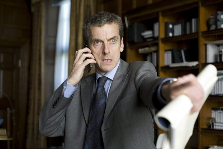 Peter Capaldi as Malcolm in IN THE LOOP Nicola Dove