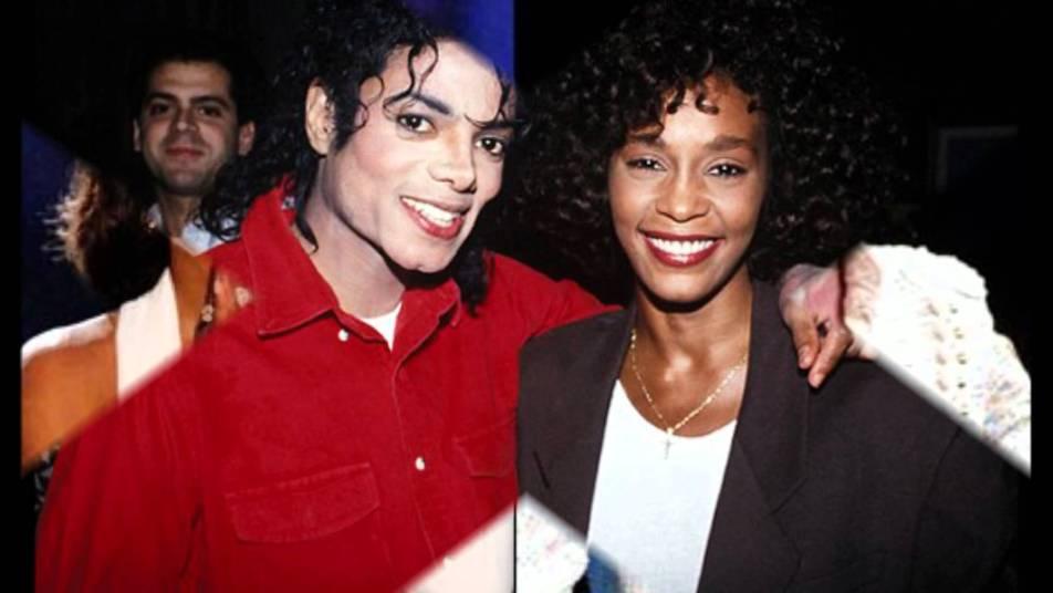 Whitney Houston i Michael Jackson