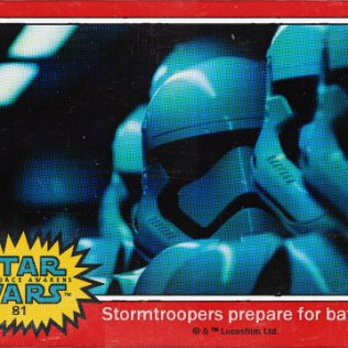 STAR WARS - Trading Card 04