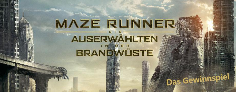 Maze Runner 2 - Gewinnspiel