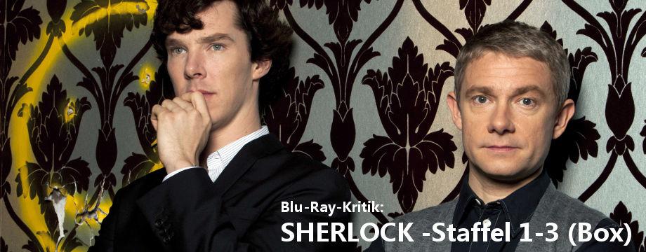 SHERLOCK - Staffel 1-3