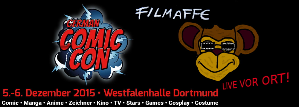 Filmaffe German Comic Con 2015