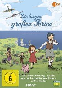 Die langen großen Ferien - DVD-Cover