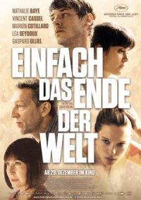 Einfach das Ende der Welt - Poster