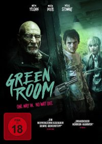 Green Room - DVD-Cover
