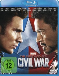 The first Avenger: Civil War - Blu-Ray-Cover