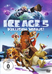 Ice Age 5 - DVD-Cover