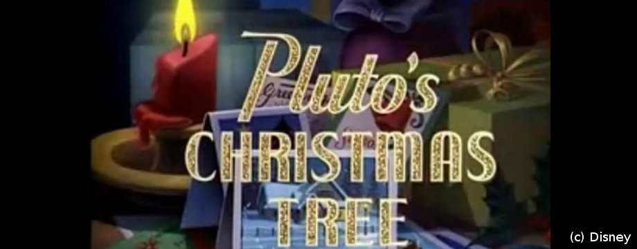Pluto's Christmas Tree - Disney Short Movie