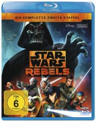 Star Wars Rebel - Staffel 2 - Blu-Ray-Cover