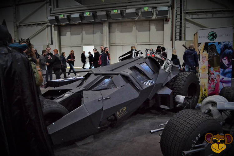 German Comic Con 2016 - Batmobil