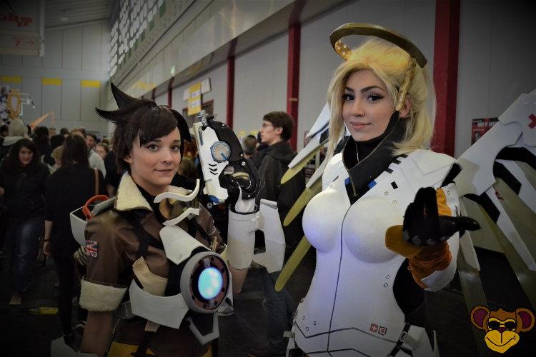 German Comic Con 2016 - Overwatch-Mädels