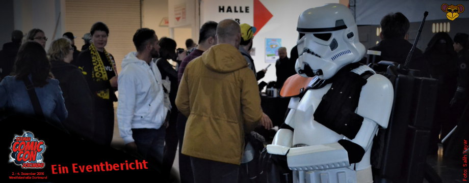 GERMAN COMIC CON in Dortmund (2016)