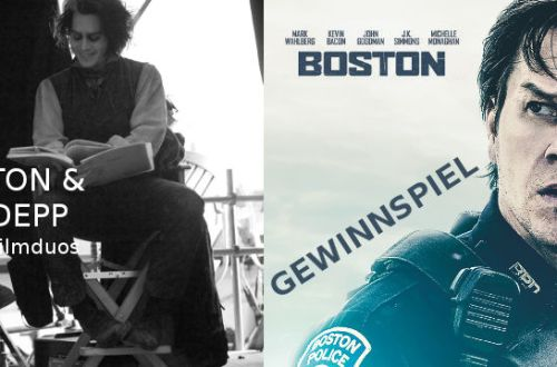 Boston - Gewinnspiel | Tim Burton & Johnny Depp Special