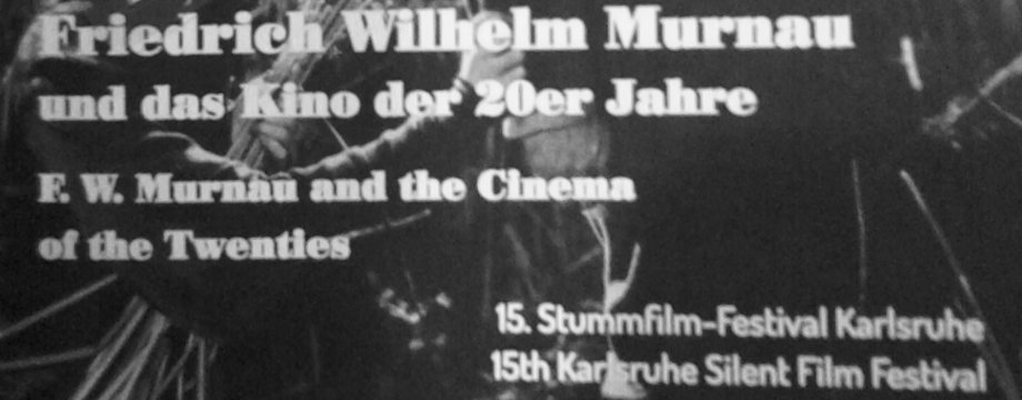 15. Stummfilmfestival in Karlsruhe