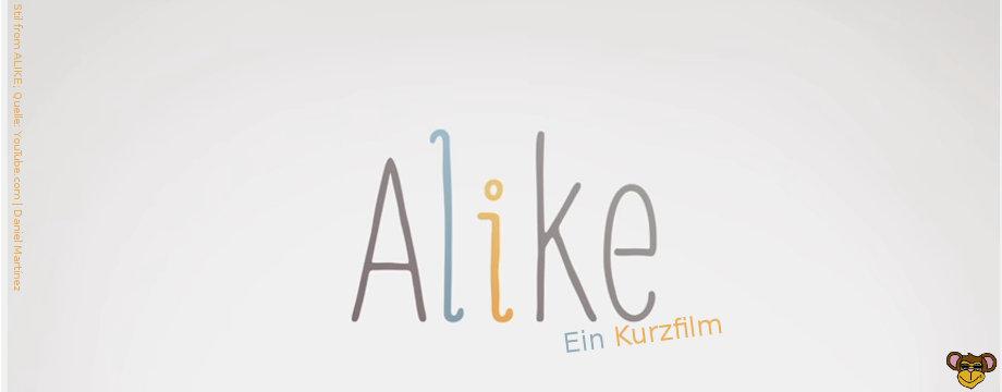 Alike - short film by Daniel Martínez