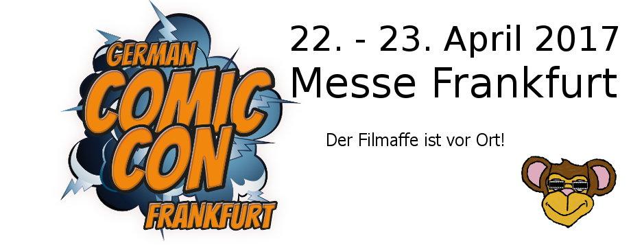 German Comic Con Frankfurt 2017 - Ankuendigung