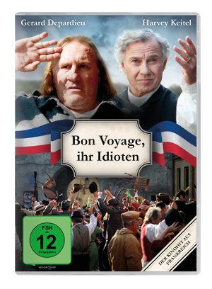 Bon Voyage Ihr Idioten - DVD-Cover