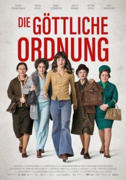 Die göttliche Ordnung - Poster   Ein Film über fünf starke Frauen