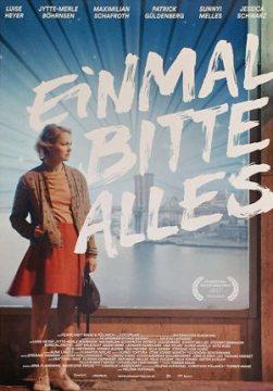 Einmal alles bitte - Poster | Ein Film über eine junge Frau, die ihren Platz im Leben sucht