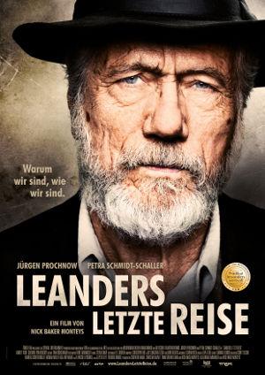 Leanders letzte Reise - Poster | Die letzte Reise eine sehr alten Mannes, der sein Glück sucht
