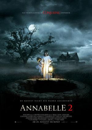 Annabelle 2 - Poster | Horrofilm über fiese Puppen und kleine Kinder