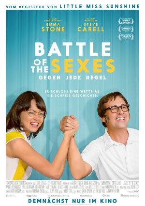 Battle Of The Sexes - Poster | Tenniskomödie nach einer wahren Geschichte
