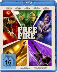 Free Fire - Blu-Ray-Cover