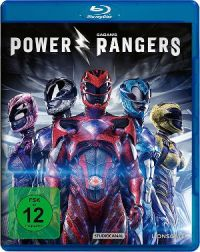 Power Rangers - Blu-Ray-Cover | Remake von 2017