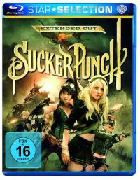 Sucker Punch - Blu-Ray-Cover | Ein Film von Zack Snyder