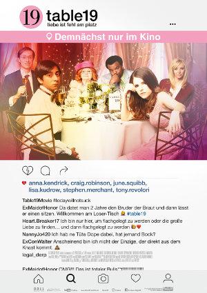 Table 19 - Poster | Eine Komödie über Außenseiter auf einer Hochzeit