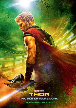 Thor 3 - Tage der Entscheidung - Poster   Der dritte Teil einer Superheldenreihe