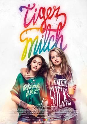 Tigermilch - Poster | Ein Drama über zwei Mädchen und einen letzten gemeinsamen unvergesslichen Sommer