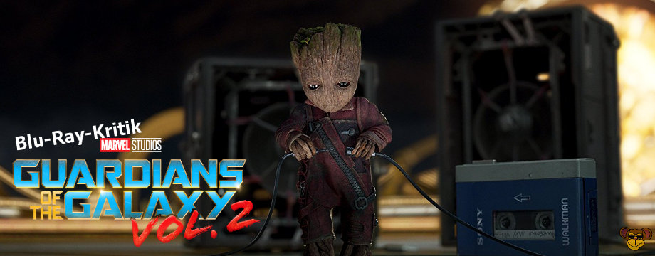 Guardians of the Galaxy 2 -Blu-Ray-Kritik