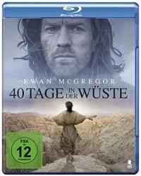 40 Tage in der Wüste - Blu-Ray-Cover