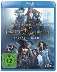 Fluch der Karibik 5 - Salazars Rache - Blu-Ray-Cover