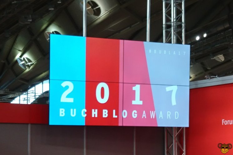 Frankfurter Buchmesse 2017 - Buchblog Award 2017