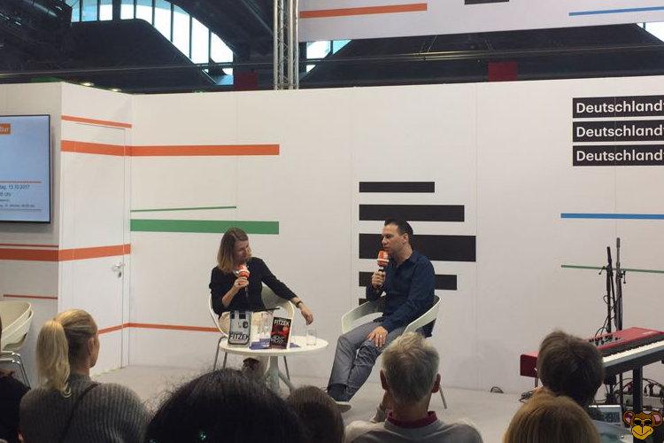 Frankfurter Buchmesse 2017 - Sebastian Fitzek