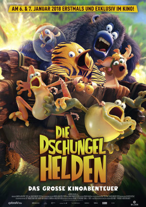 Die Dschungelhelden - Poster | franz. Animationsfilm