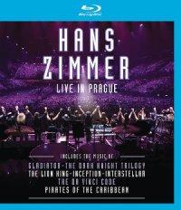 Hans Zimmer live Prague - BD-Cover | Konzert mit Liedern von Hans Zimmer