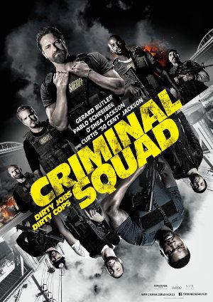 Criminal Squad - Poster   Actionfilm