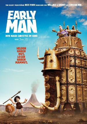 Early Man - Poster | Animationsfilm in der Steinzeit