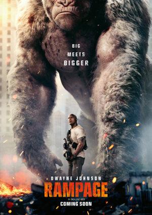 Rampage - Poster | Actionfilm nach Videospiel